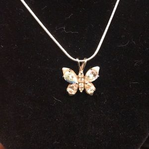 Beautiful butterfly necklace!